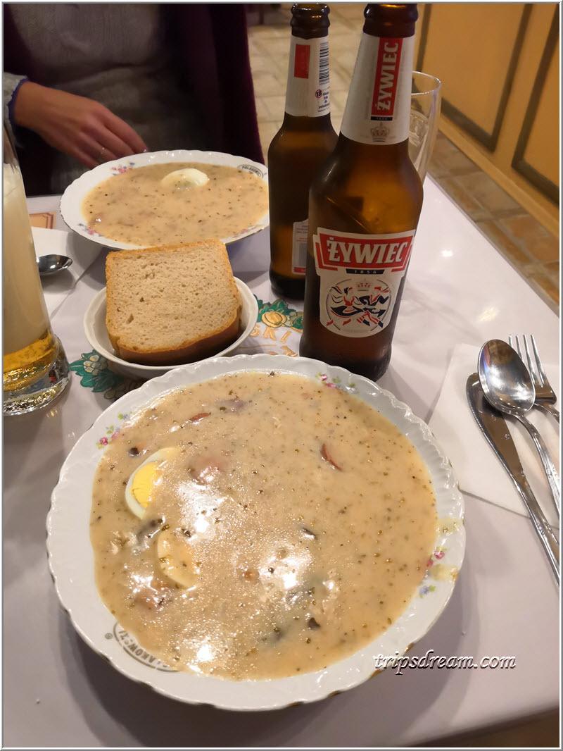 Польский суп журек