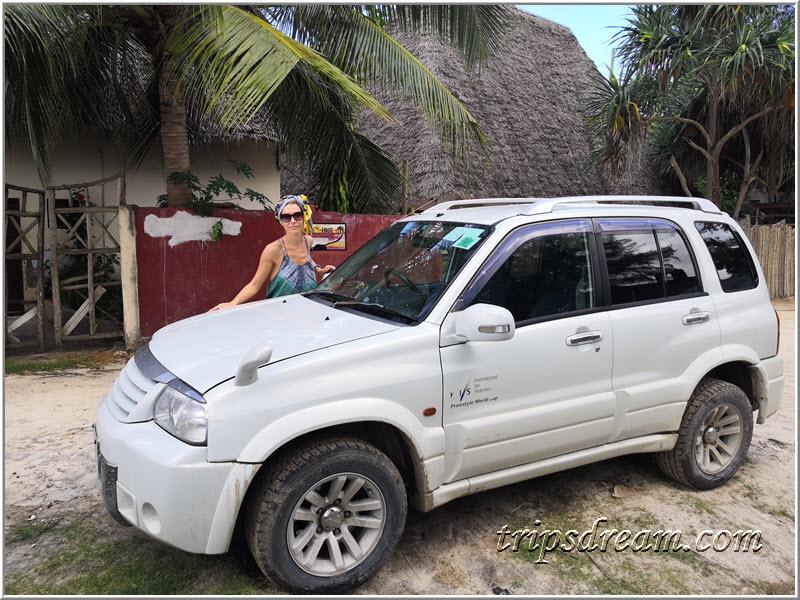 Арендная Suzuki Grand Escudo на Занзибаре