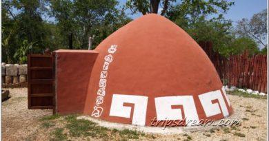 Темаскаль или «Дом горячих камней» у древних майя