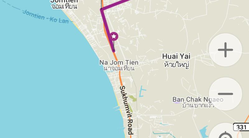 Pattaya routes